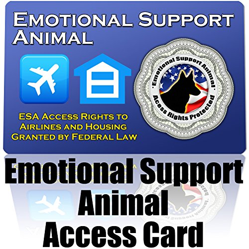 barkOutfitters ESA ID Emotional Support Animal ID Card - Protect Your Right to Have an ESA With You