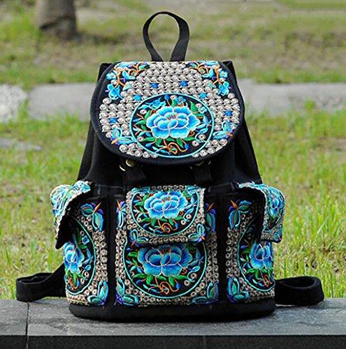 Bolsa de hombro / bordado bolsa de mano / ocio Viajes Mochila ( Color : 3# ) 2#