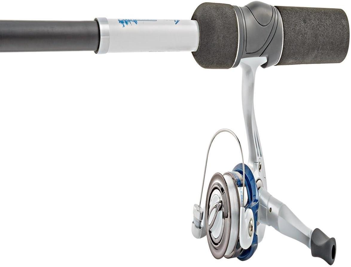 Sz 10 Reel Combo South Bend Fishing Trophy Stalker Telescopic 5/' Spinning Rod