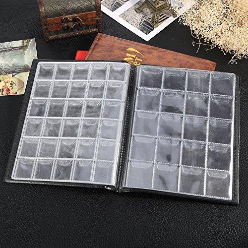c56f640131 Raccoglitore per collezione di monete Album Moneta,250 tasche,nero:  Amazon.it: Casa e cucina