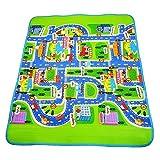 bjlongyi City Road Crawling Blanket Floor Carpet Rug Play Mat for Newborn Baby Children