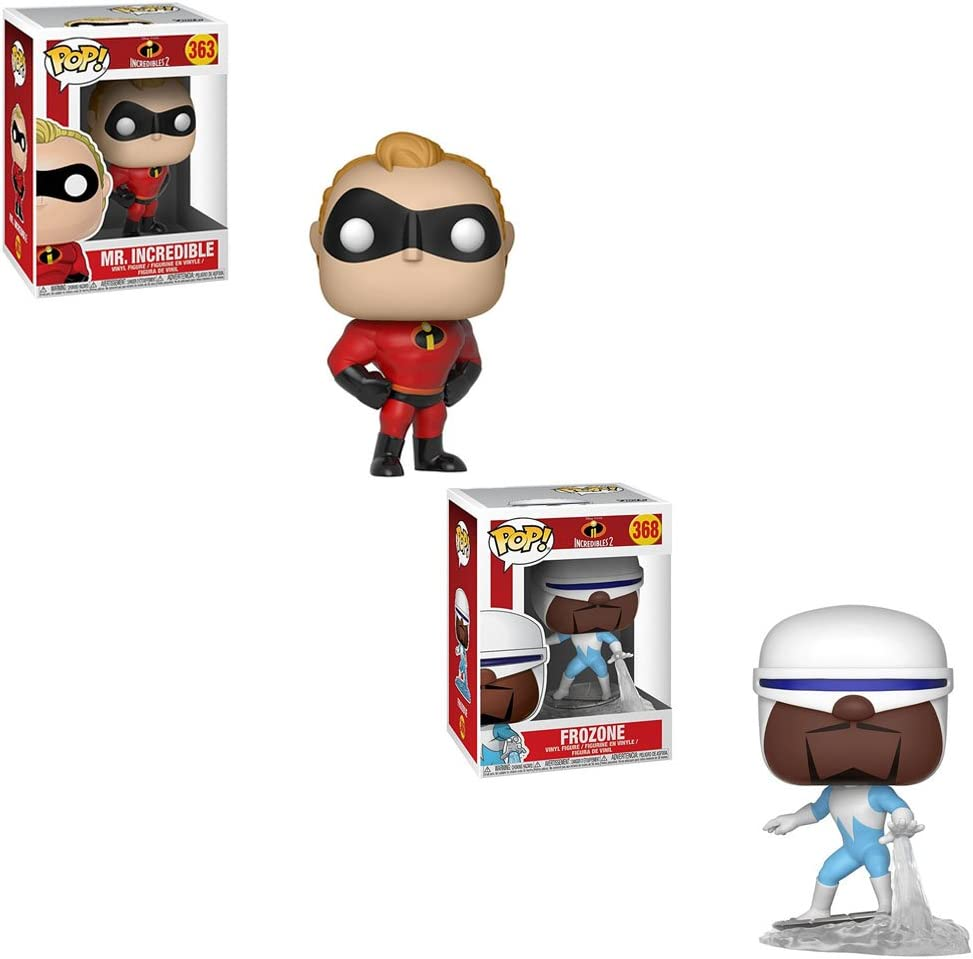 Funko Pop Disney Incredibles 2-Frozone
