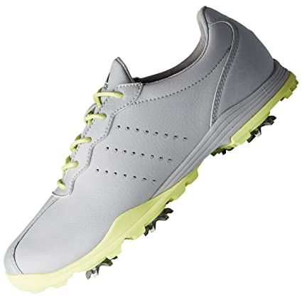 separation shoes a020a 8e1d0 adidas Golf 2018 Ladies Adipure DC WoLadies Waterproof Golf Shoes - Spiked  GreyYellow 4.5