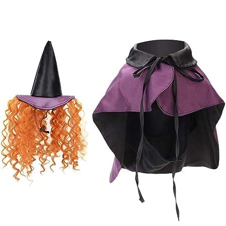 Disfraces de Halloween del Perro, Bruja Disfraz con Sombrero de ...