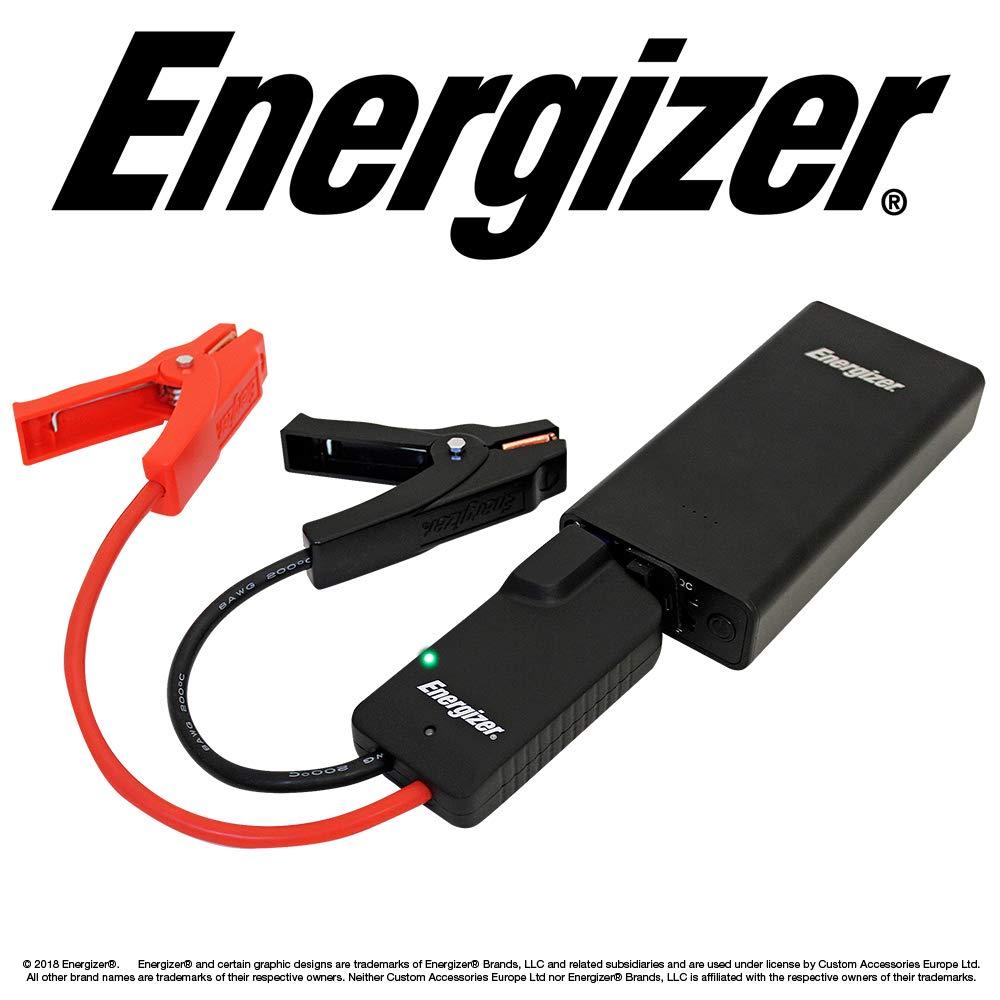 Energizer 50806 Lithium Portable Car Jump Starter, 9000 mAh, 12v
