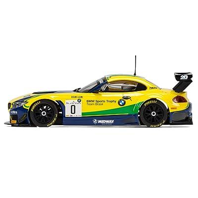 Scalextric Circuit Routier C3721BMW Z4GT3–Blancpain Série Brands Hatch 5118,1cm de voiture