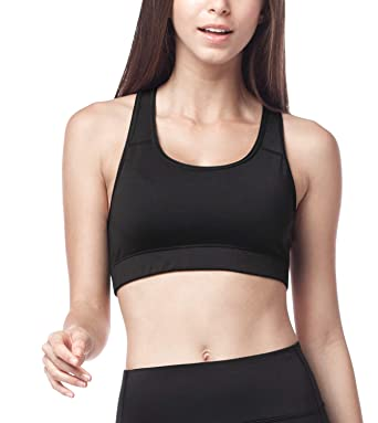 LAPASA Women s Sports Bra. Anti-Irritant Wide Straps d507cbcedf8