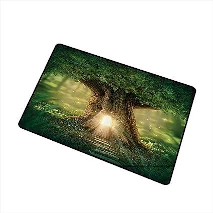 Amazon Com Mdxizc Fashion Door Mat Tree Of Life Bohemian Yoga