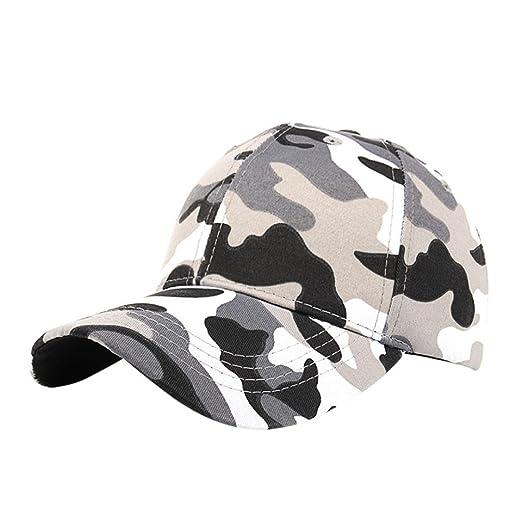 22a0fd22 Amazon.com: BCDshop Unisex Camo Baseball Cap Tactical Outdoor Sports Sun  Protection Hat (Black): Clothing