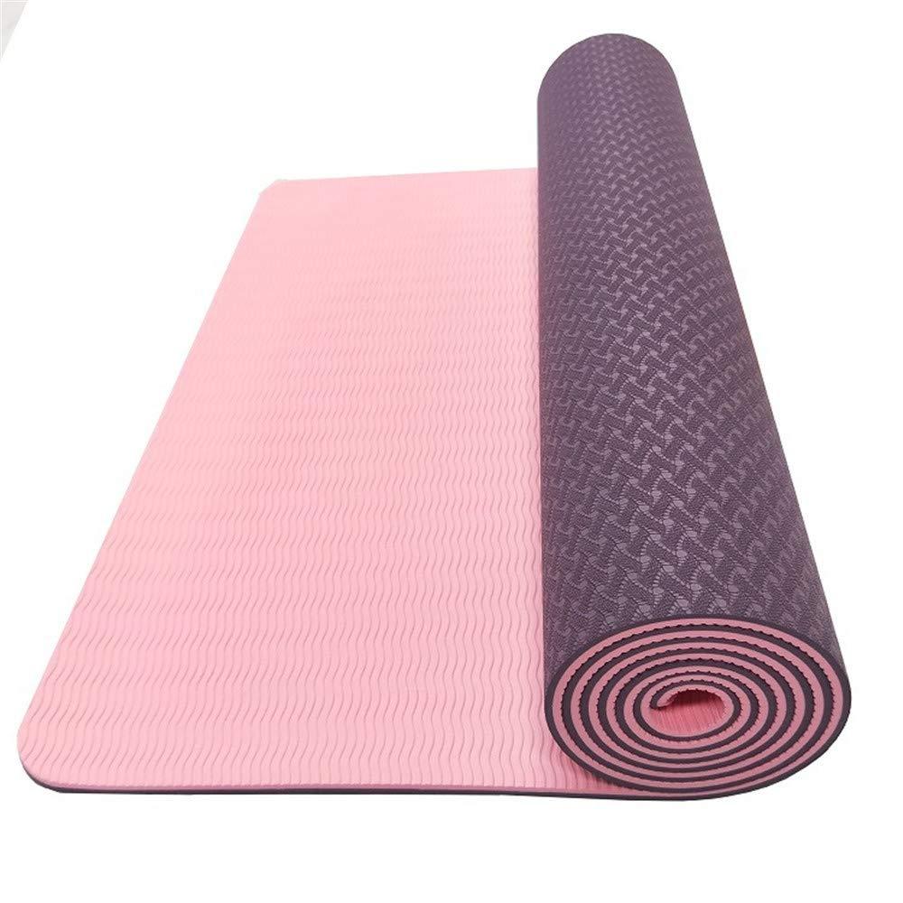 Umweltfreundliche und Bequeme Rutschfeste Yogamatte-Balancenauflage (183  61  0.6CM)