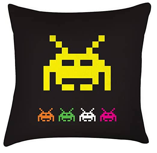 Space Invaders cojín retro gaming, para Papá, día del padre ...