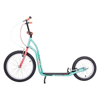 "'Kick Scooter Roller drogon se longue distance 20 ""/16 Bleu/Orange"
