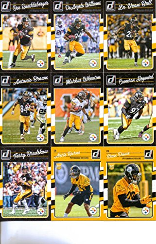 2016 Donruss Football Pittsburgh Steelers product image