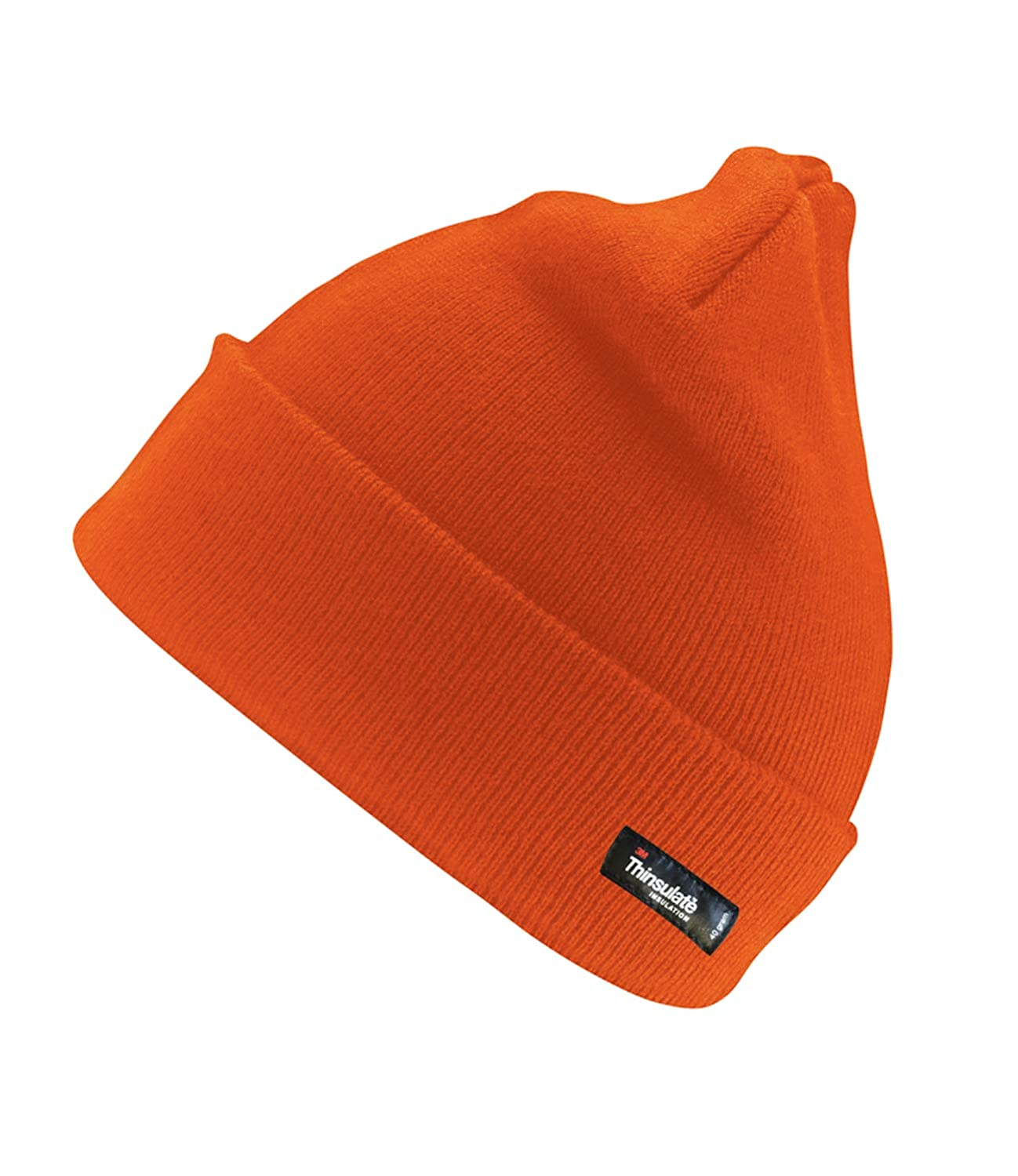 Mens Womens Result Winter Lightweight Windproof Thinsulate Beanie Hat RC133