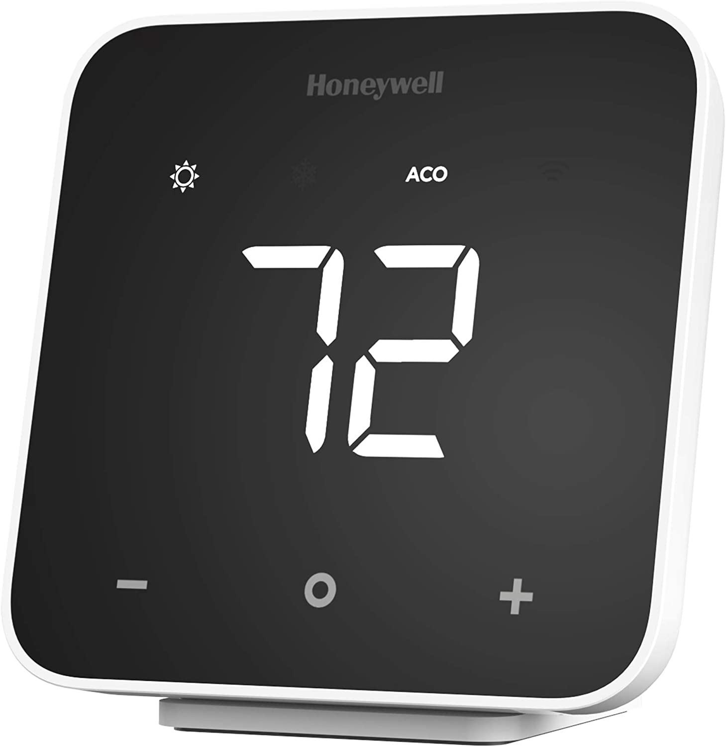 Black 2-Pack Honeywell Home D6 Thermostat with Screen Cleaning Kit