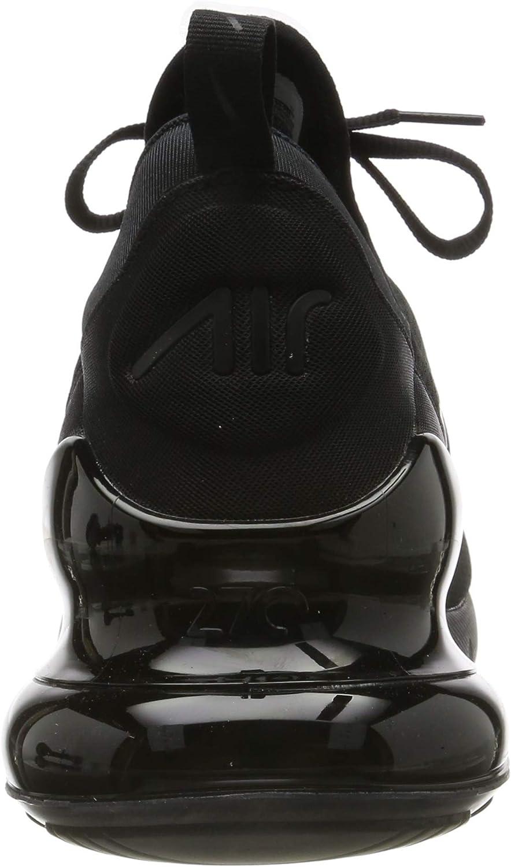 Nike Herren Air Max 270 Sneakers Schwarz Black Black Black 001