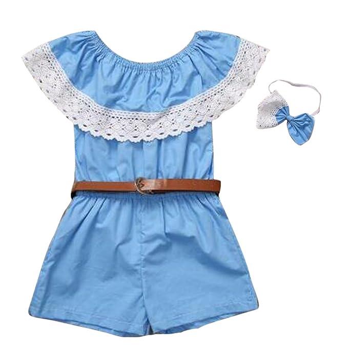 Mini vestido de las muchachas Vestido de playa Ropa a juego de la familia Conjuntos de