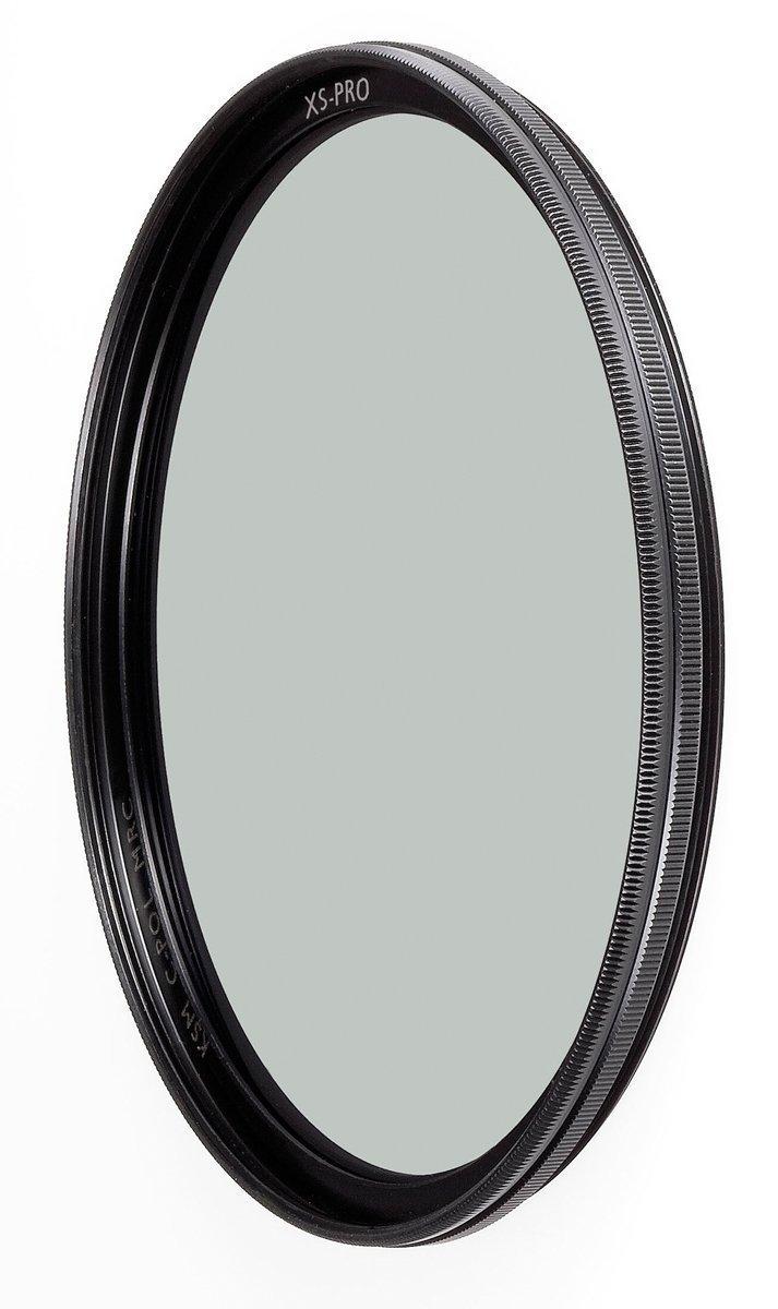 B+W 67mm XS-Pro HTC Kaesemann Circular Polarizer with Multi-Resistant Nano Coating, Black Schneider Kreuznach 66-1081476
