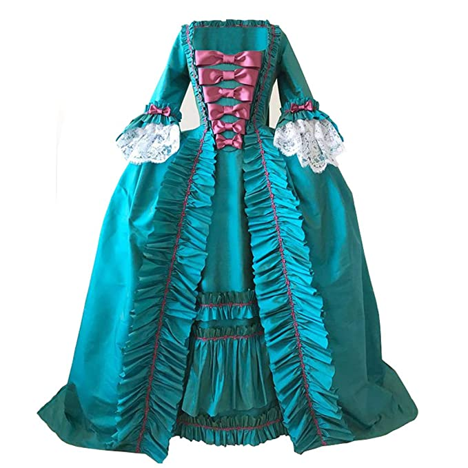 Masquerade Ball Clothing: Masks, Gowns, Tuxedos 1791s lady Womens Rococo Dress Victorian Gown $128.90 AT vintagedancer.com