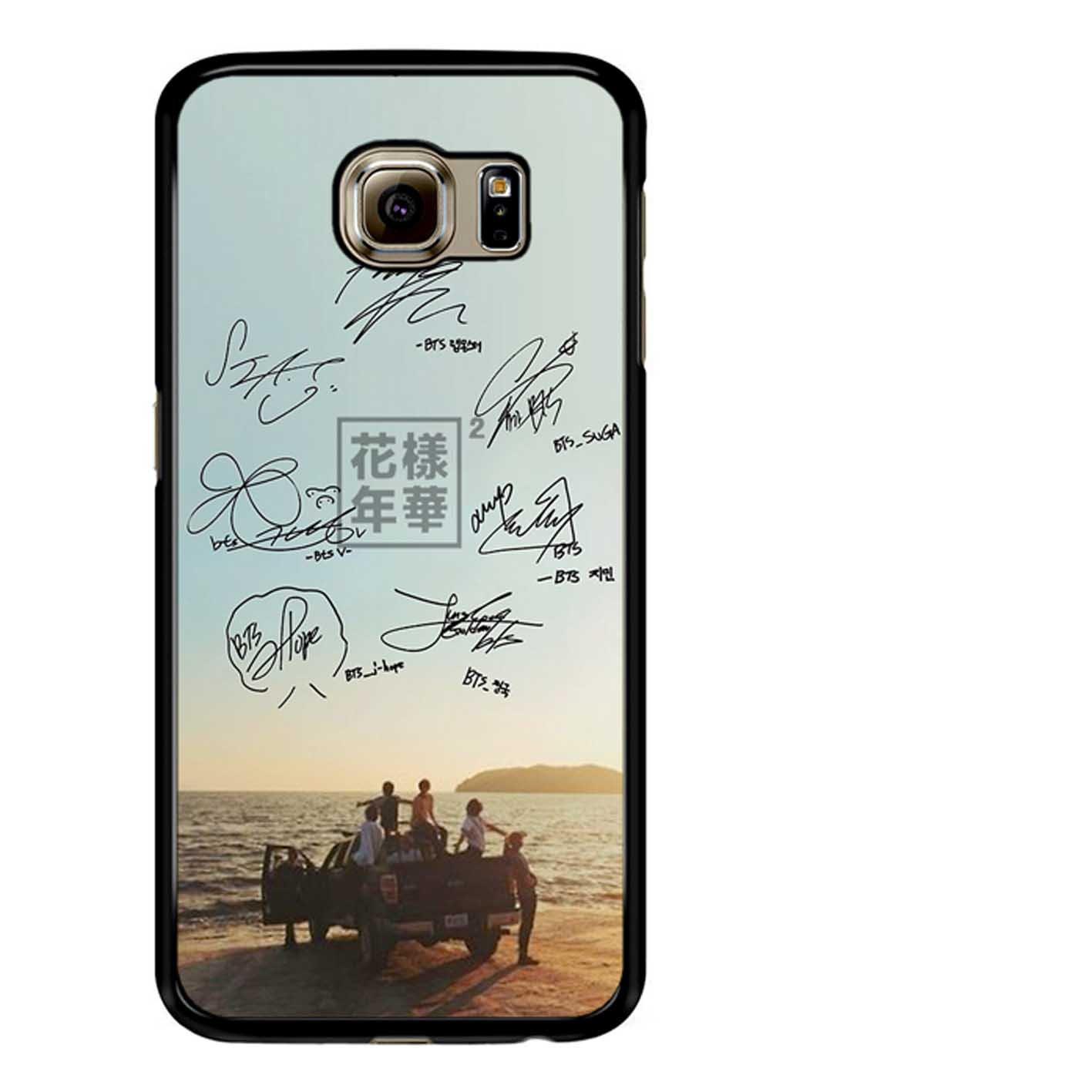 Bts Phone Signature 2 Case Samsung Galaxy S7 Amazon Co Uk Books