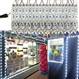 EAGWELL 20 Ft Storefront 40 Pieces Cold White 5050 LED Light Module,2 Set 5050 SMD 120 LED Module Store Front Window Sign Strip Light
