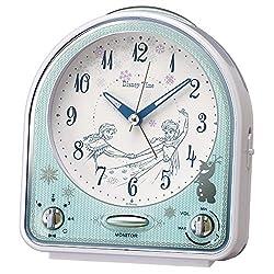 Disney Frozen Disney time quartz alarm clock (white pearl paint) FD475W