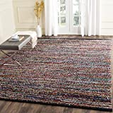 Safavieh Cape Cod Collection CAP367A Hand Woven Multicolored Jute Area Rug (4′ x 6′) For Sale