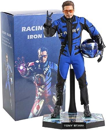 Modelo De Animeavengers Marvel Ironman Iron Man Racing Traje Tony Stark  Estatua Iron Studios PVC Figura De Acción Juguete Película Colección Modelo  Muñeca 32Cm: Amazon.es: Hogar