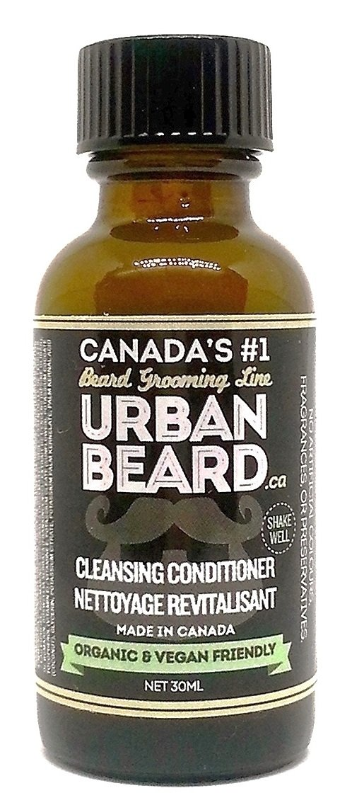 Urban Beard Organic Cleansing Conditioner - Vegan - Canada's # 1 Grooming Line