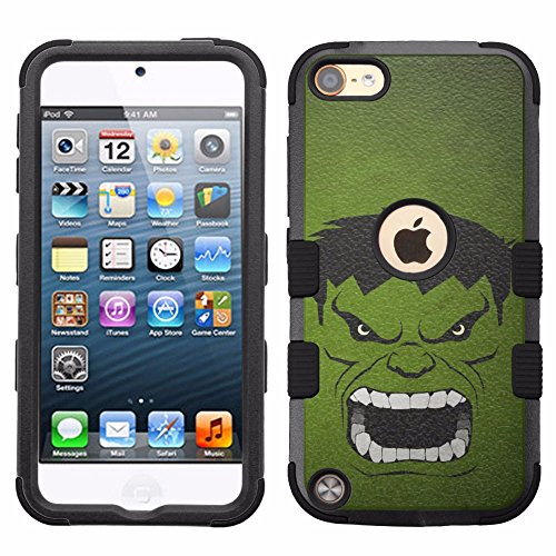 for iPod Touch 5/6, Hard+Rubber Dual Layer Hybrid Heavy-Duty for sale  Delivered anywhere in USA