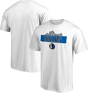 Dallas Mavericks luka Doncic 77# T shirt Gioventù Uomo Name & Number Magliette Sportive da Basket Moda Tee Tops