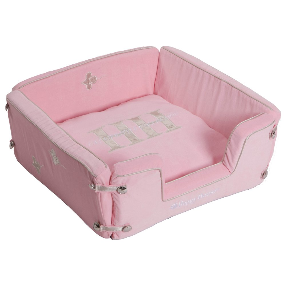happy-house Katze Lifestyle Quadratischer Korb, Pink