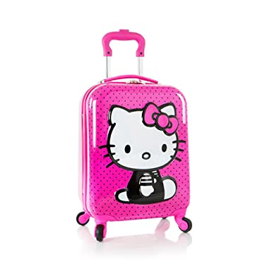 a382931a2754 Amazon.com  Heys Hello Kitty 3D Spinner Luggage Case  Clothing