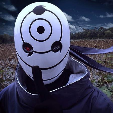 HNHX Máscara de Halloween Máscara Ninja Máscara Uchiha ...