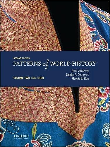 Patterns Of World History Since 1750 Pdf
