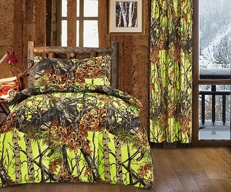 Hunter-Camo-Toddler-Comforter-Sheet-Pillowcase-Set