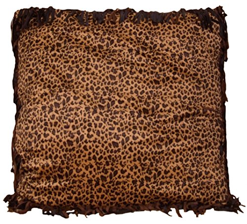 Carstens Cowgirl Leopard Euro Sham Pillow (Cowgirl Pillow)