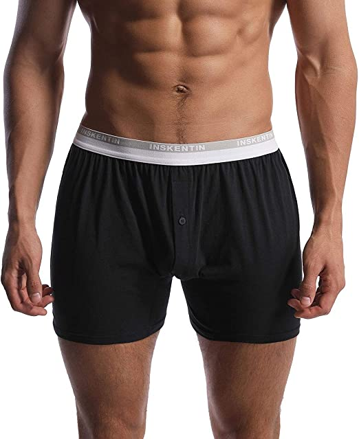 Glakc Mens Underwear Soft and Comfortable Boxer Stretch Pants