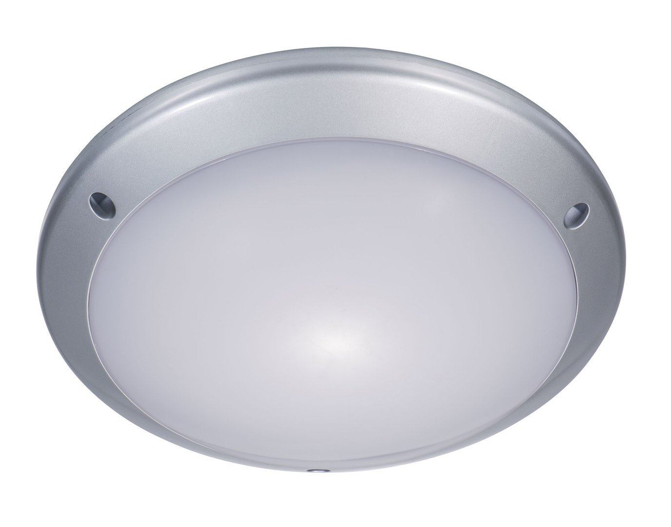 Zeyun led ceiling light fitting with motion sensor modern flush mounted bulkhead light for indoor and outdoor 25w neutral white ip54 silver