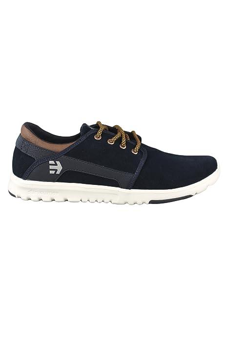 Etnies Scout - Zapatillas de Ante para Hombre Azul Azul: Amazon.es: Zapatos y complementos