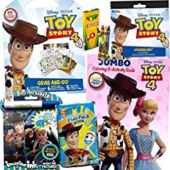ColorBoxCrate Toy Story 4 Coloring Book ...