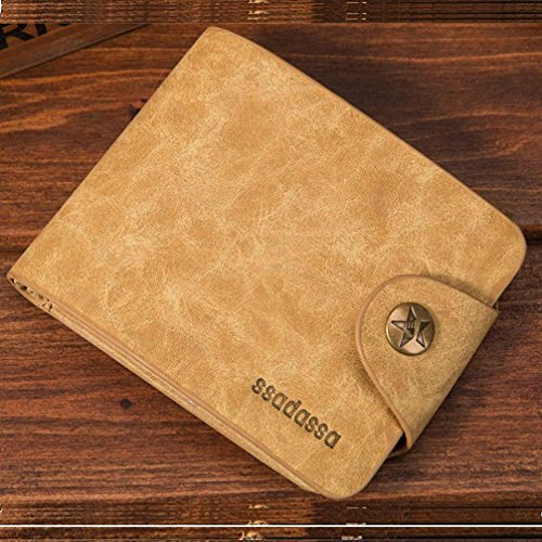Wallet Purse Men Hotsellhome Business Fold Bifold Luxury Credit ID Design Holder Pockets Coffee New Card Soft Leather Gray 0q16w14S