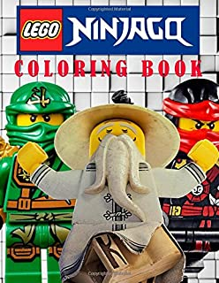 LEGO NINJAGO Coloring Book On The Ninjago Characters Great For Young Children Aged