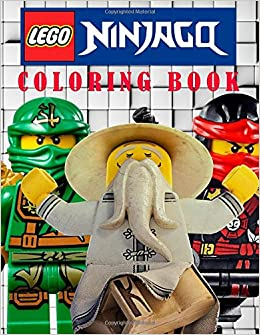 LEGO NINJAGO: Coloring Book on the Ninjago Characters. Great Book ...