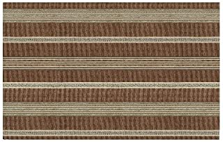 product image for Heritage Lace Sampler 14-Inch by 20-Inch Coffe Placemat