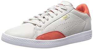 PUMA Women's Match Lo Basic Sports Sportstyle Sneaker,Glacier Gray/Grenadi,7 B US