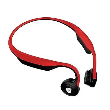 Auriculares Bluetooth de conducción ósea,Memoria de plastico ...