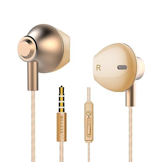 56 opinioni per Metal Cuffie con cancellazione del rumore, Cuffie In-Ear Bassi Potenti Alta