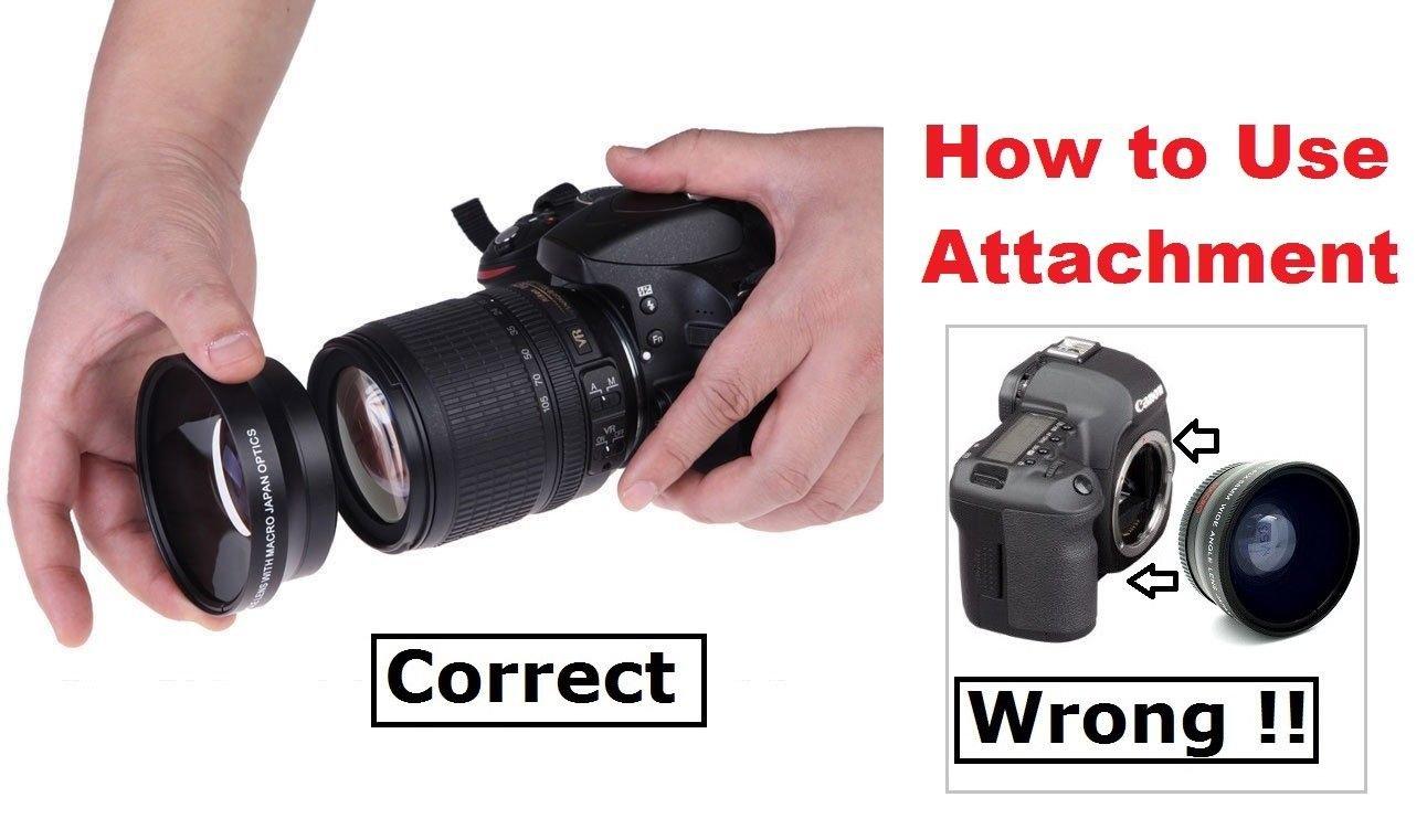 Nw Direct Micro Fiber Cleaning Cloth for Canon VIXIA HF R72 0.21x-0.22x High Grade Fish-Eye Lens