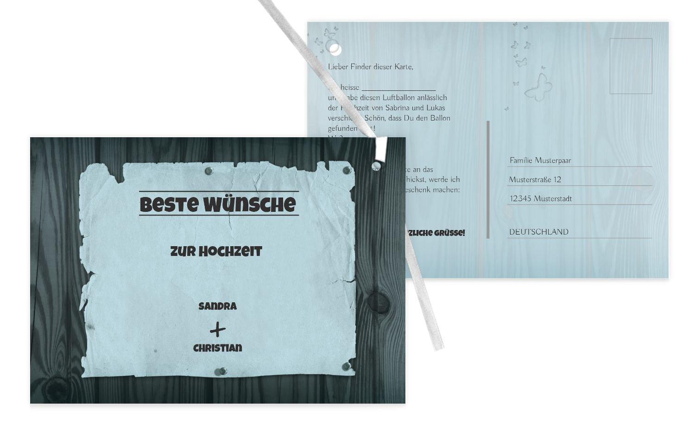 Ballonkarte Steckbrief, 100 Karten, braunmatsch B07CQCQ8BF | Neuheit  Neuheit  Neuheit  | Sonderangebot  | Sorgfältig ausgewählte Materialien  f8babc